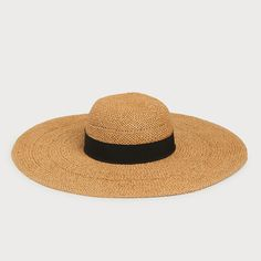 Saffron Straw Floppy Sun Hat   Accessories   L.K.Bennett Floppy Sun Hats, Printed Pencil Skirt, Blue Ribbon, New Product, Glamour, Accessories, Style, Swag, The Shining