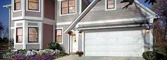 Energy efficient garage doors can be basic like this one. Visit us today at www.ColumbusHomeImprovementCompany.com or (614) 468-8804.