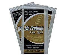 Mr. Prolong – Producto en gel con doble efecto, lubricar y retardar. Larga duración y 100% efectivo.
