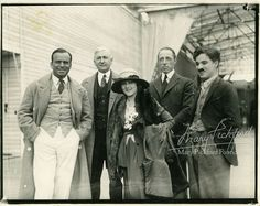 On February 5, 1919, United Artists is established.  Joining forces,  Douglas Fairbanks, Oscar Price (President of UA) Mary Pickford, D.W. Griffith and Charlie Chaplin,  source: marypickford.org/personal