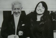 Martha Argerich with Arthur Rubinstein!