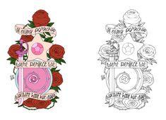 Steven Universe Tattoo Redesign by thumiza.deviantart.com on @DeviantArt