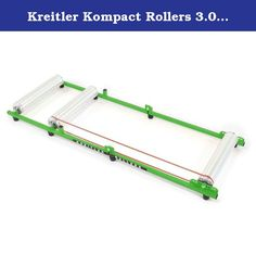 Kreitler Kompact Rollers 3.0 Alloy Green. Kreitler rollers are hand crafted using only the highest quality materials and carry a lifetime warranty. Standard features include: aluminum drums turned on a CNC lathe, instrument quality shield bearings for the smoothest, quietest ride available on rollers, quality powder coated steel frames which fold easily for transport and storage with no tools required.