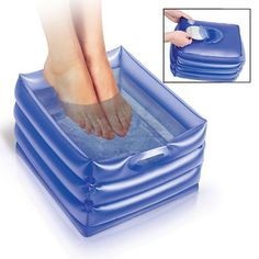 INFLATABLE MASSAGING FOOT BATH | Better Senior Living