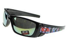 Oakley Batwolf Sunglasses Black Frame Blue Lens 010 AUD17.93