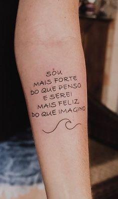 Mini Tattoos, Top Tattoos, Frases Para Tattoo, Lettering Tutorial, Tattoo Inspiration, Tattoos For Women, Tattoo Quotes, Body Art, Tattoo Designs
