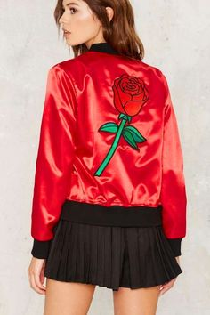 671efb35ea26 26 Red Bomber Jacket For Women Who Wish to Look Stunning
