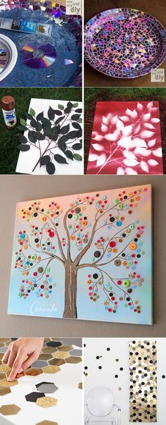 48 Ideas recycled art projects for teens room decor Recycled Art Projects, Art Projects For Teens, Diy Projects, Diy Home Crafts, Diy Arts And Crafts, Crafts For Kids, Teen Room Decor, Diy Room Decor, Ideias Diy