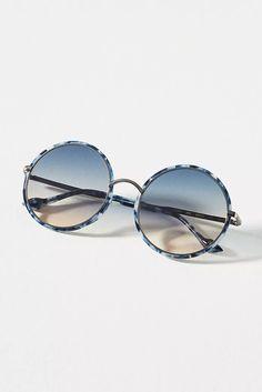 Eyewear for Women | Anthropologie Round Sunglasses, Mirrored Sunglasses, Summertime Outfits, Wig Styles, Miranda Kerr, Reading Glasses, Creative Director, Eyewear