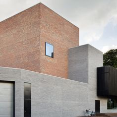 Amsterdam studio KRFT has updated and extended a museum and cultural complex in the Dutch town of Laren, adding a new brick-clad theatre.