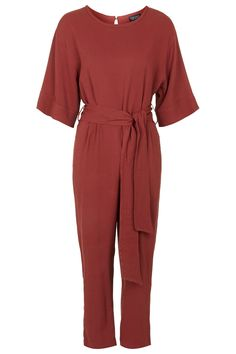 Belted Tapered Jumpsuit