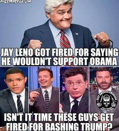 How can these guys get fired when not one of them has a real job. They are completely out of touch with American workers. DON'T WATCH THEM! Liberal Hypocrisy, Liberal Logic, Socialism, Shining Tears, Getting Fired, Out Of Touch, Conservative Politics, God Bless America, Way Of Life