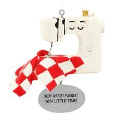 Sewing Machine Resin Ornament