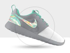 Custom Nike Roshe Run Island Turquoise on Etsy, $190.00
