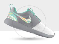 Custom Nike Roshe Run Island Turquoise on Etsy, $190.00