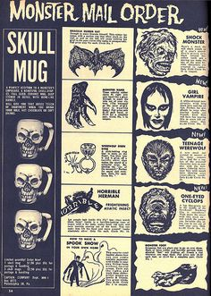 Vintage Monster Magazine Ad