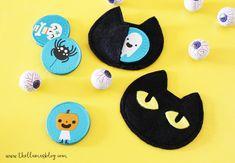 The_llamas_blog_Halloween_cat_treat_bags_3_thellamas Halloween Cat, Halloween Ideas, Cat Treats, Llamas, Treat Bags, Cats, Blog, Party, Goodie Bags