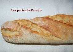 Baguettes de pain inratables Thermomix