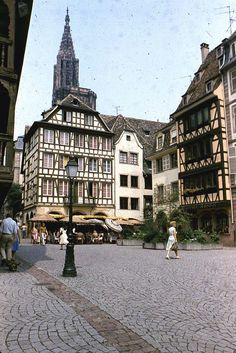 Strasbourg ~home of my mother