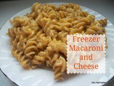 Freezer Macaroni and Cheese More