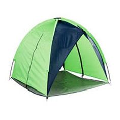 Coleman Mountaineer Dog Tent - in theory, perfect. in reality, I could only be so lucky if Mick used this at all.