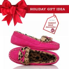 You can't go wrong with cozy moccasins. #giftIdea