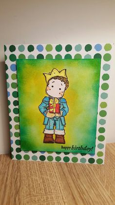 Card for a prince