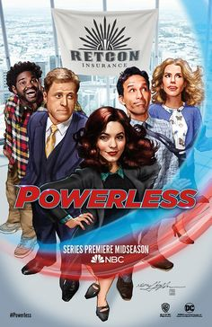 NBC's super series 'Powerless' unveils Comic-Con poster