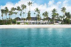 The Sanchaya, an elegant, just-opened resort on the idyllic coast of Indonesia's Bintan Island
