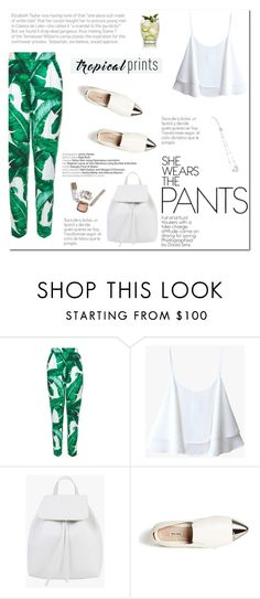 """""""Tropical Prints"""" by aurora-australis ❤ liked on Polyvore featuring Dolce&Gabbana, Miu Miu and Zimmermann"""