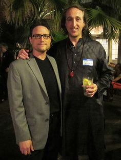 Al Conti with Grammy nominee and award winning artist Paul Avgerinos at the ZMR Music Awards Show 2015