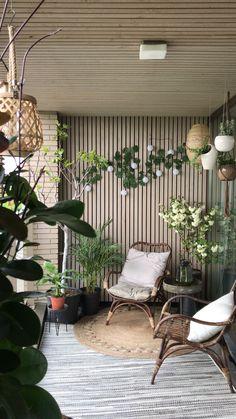 Small balcony Balcony, Patio, Outdoor Decor, Plants, Home Decor, Decoration Home, Room Decor, Balconies, Plant