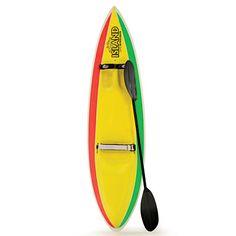 Fathers' Day: Adventure-seeking dads will love this part-kayak, part-surfboard, epoxy resin-and-fiberglass board. $1,050; waveski.com.