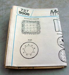 Never  Used Vintage McCalls Pattern 9008 by lovelylovedesigns, $5.99