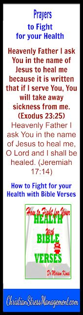 Health Inspiration Bible prayers to fight for your health - How to Fight for your Health with Bible Verses Edition How to Fight for your Health with Bible Verses 2 nd Edition teaches you th. Healing Bible Verses, Bible Prayers, Bible Scriptures, Healing Prayer, Powerful Prayers, Healing Hands, Catholic Prayers, Prayer For Health, Prayers