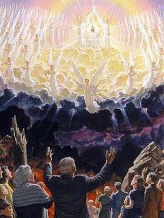 Images Bible, Bible Pictures, Angel Pictures, Jesus Art, God Jesus, Art Heaven, Art Prophétique, Image Jesus, Jesus Second Coming