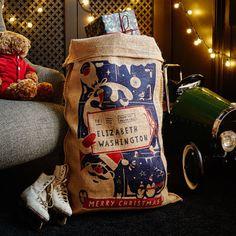 The Spilsbury Christmas Sack  // Christmas Decor Ideas // Christmas Decorations // Santa Sacks // Christmas Gift ideas // Christmas Decorations For The Home