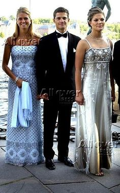 Crown Princess Victoria, Prince Carl Philip and Princess Madeleine