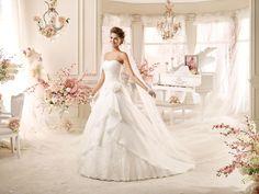 Moda sposa 2016 - Collezione COLET.  COAB16232. Abito da sposa Nicole.