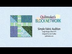 Simple Fabric Audition - simple method for looking at multiple settings before you sew