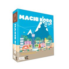 Machi Koro (IDW Games)  Armed only with your trusty die and a dream, you must grow the sleepy town of Machi Koro into the largest city in the region. You will need to collect income from developments, build public works, and steal from your neighbors coffers (just make sure they aren't doing the same to you)!  Build your city better than the other mayors. Each card has a value that when rolled on the dice (either on your turn or anyone's) pays to your city's coffers.