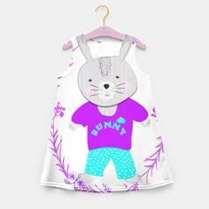 Cute Whimsical Bunny Rabbit