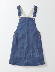 Hetty Dungaree Dress Boden