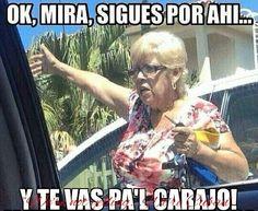 Old Cuban ladies be like.....