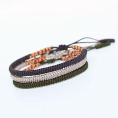 Handmade Knots Lucky Rope Bracelet Tibetan Buddhist Adjustable Unisex Bracelet #Charm