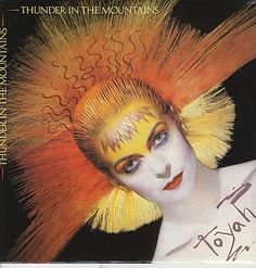 "For Sale - Toyah Thunder In The Mountains UK  12"" vinyl single (12 inch record / Maxi-single) - See this and 250,000 other rare & vintage vinyl records, singles, LPs & CDs at http://eil.com"