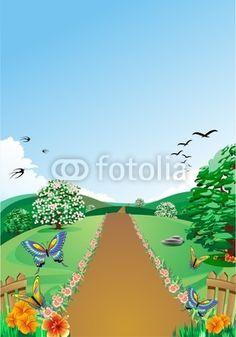 The road of spring! © bluedarkat