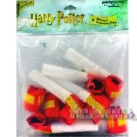 "Harry Potter ""Literary"" Blowouts  http://hardtofindpartysupplies.com/Harry-Potter-Birthday-Party-Supplies/Harry-Potter-Literary-Blow-outs-Blowouts-Horns-Noise-Makers-Favors"