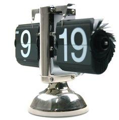 Bigfoot Mechanical Next Page Clock