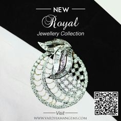 Diamond pendant for sophisticatedly royal you. Get it today at www.vardhamangems.com/pendants